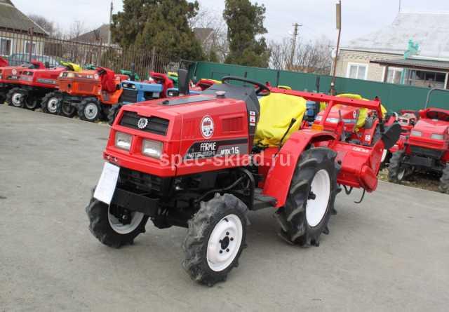Продам Мини-трактор Mitsubishi MTX15D