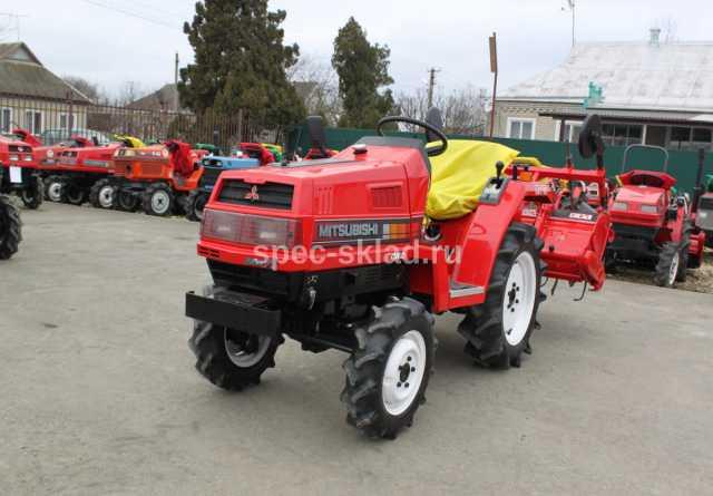 Продам Мини-трактор Mitsubishi MT15D