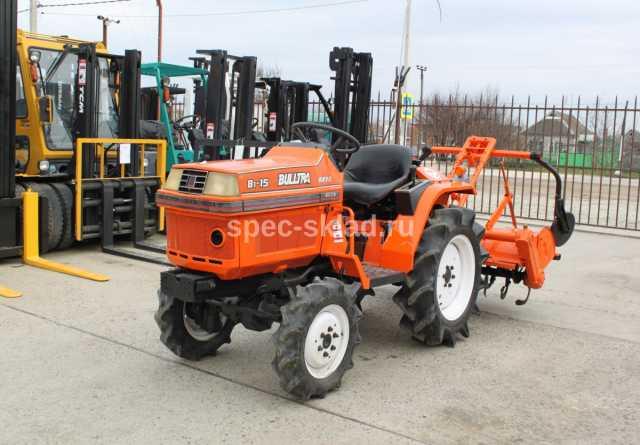 Продам Мини-трактор Kubota B1-15D 3