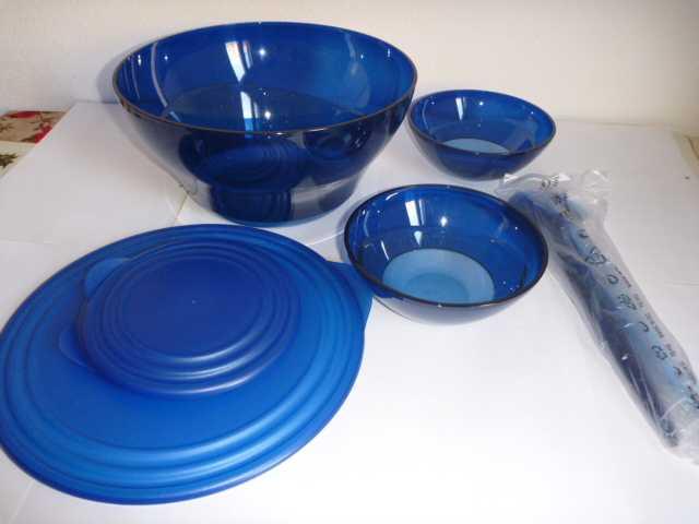 Продам Набор Элегантность Tupperware синий