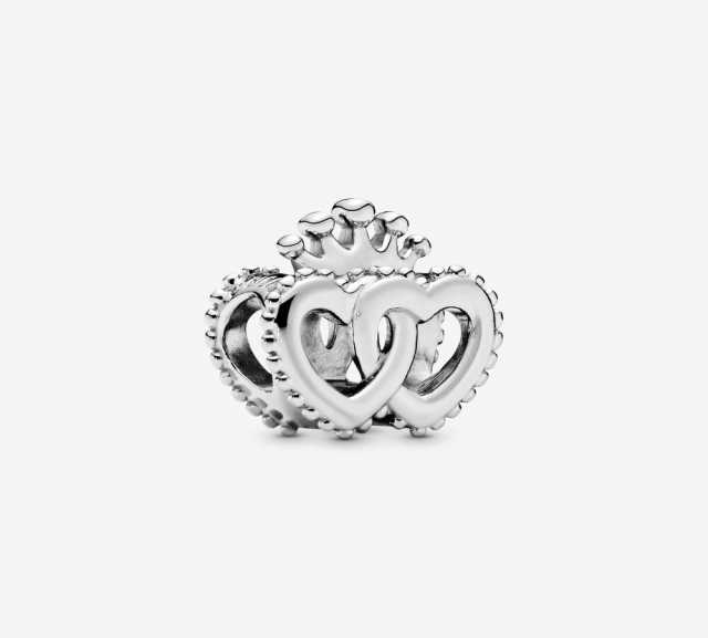 Продам Pandora шарм Crown & Interwined Hearts C