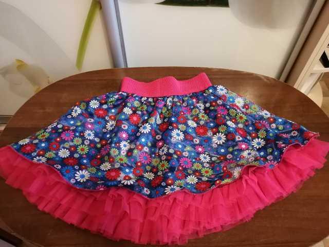 Продам: Воздушная юбка-солнце в цветочек