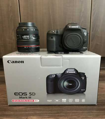 Продам: Canon EOS 5D Mark III camera + 24-105mm