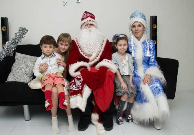 Предложение: Дед Мороз и Снегурочка на дом, в школу