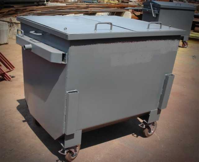 Предложение: Контейнер для вывоза мусора с крышкой