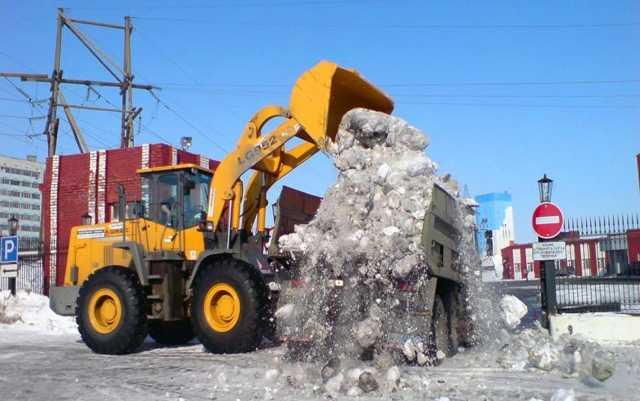 Предложение: Уборка снега, мусора. Все районы