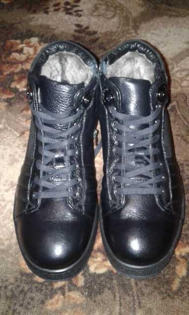 Продам Ботинки мужские, кожа, новые!