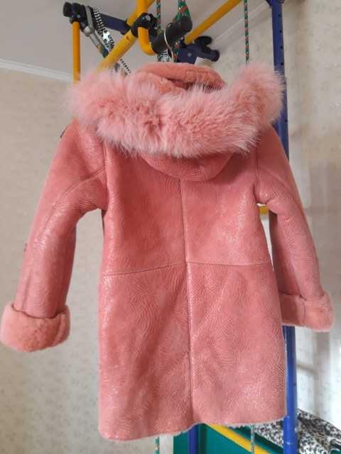 Продам Дублёнка для девочки 5-7 лет