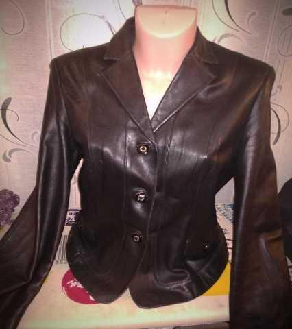 Продам Кожаная куртка 44-46
