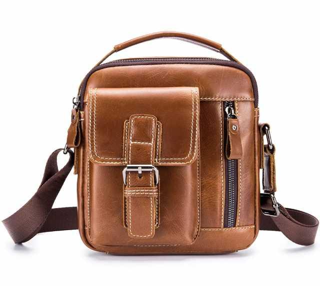 Продам Мужская сумка-мессенджер из натуральной
