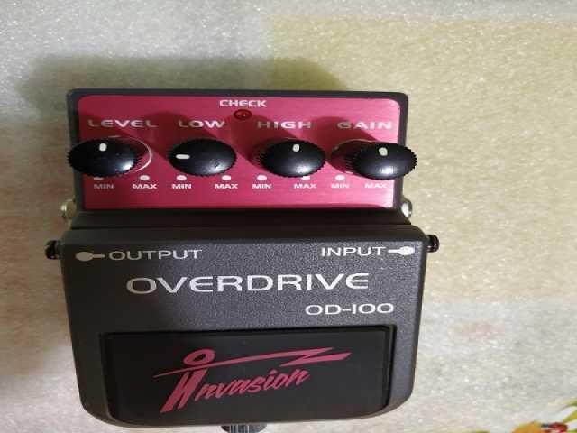 Продам Гитарный овердрайв Invasion OD-100