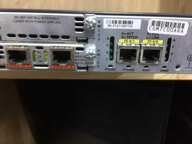 Продам Маршрутизатор Cisco 2811