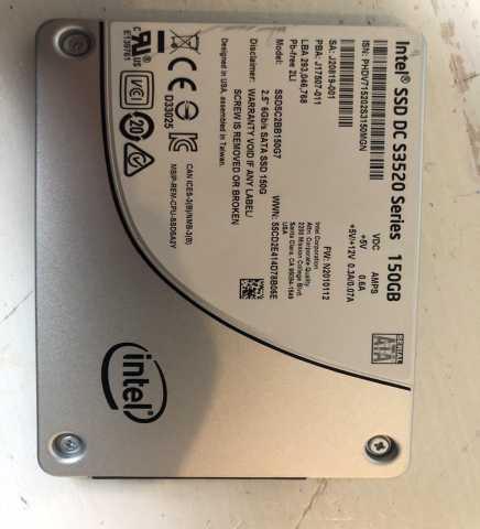 Продам Intel ssd DC S3520 Series 150Gb