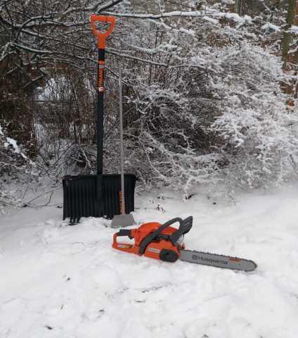 Предложение: Уборка снега, распил дров