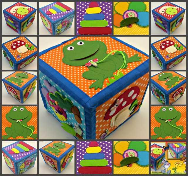 Продам Развивающий мягкий кубик