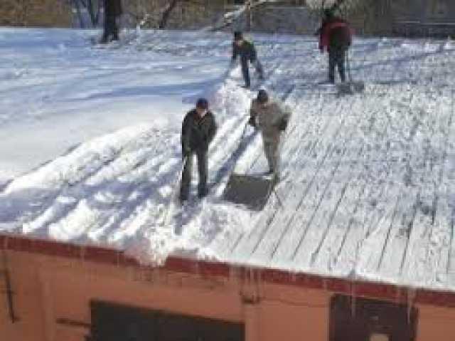 Предложение: Уборка чистка территорий , крыш от снега