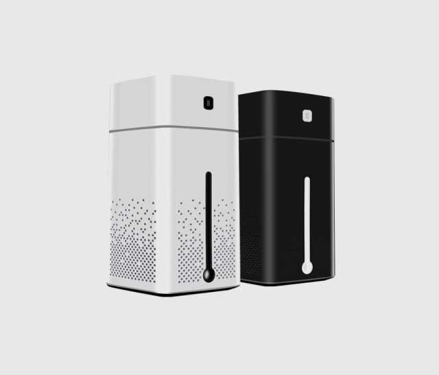 Продам: Умный ультразвуковой USB увлажнитель для