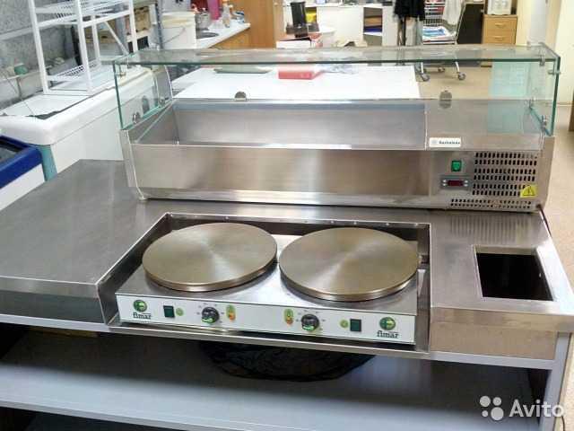 Продам: Оборудование для приготовления блинов