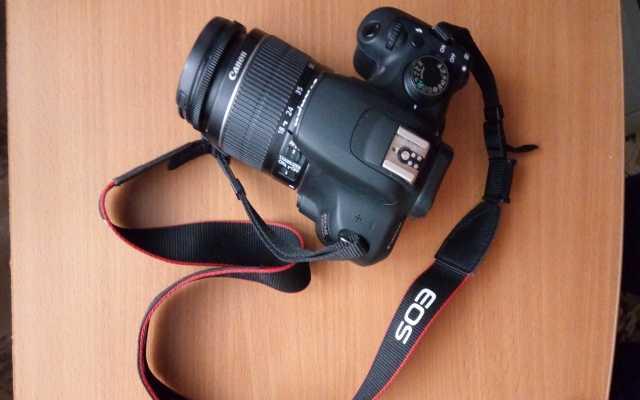 Продам: Canon 1200d- зеркальный фотоаппарат