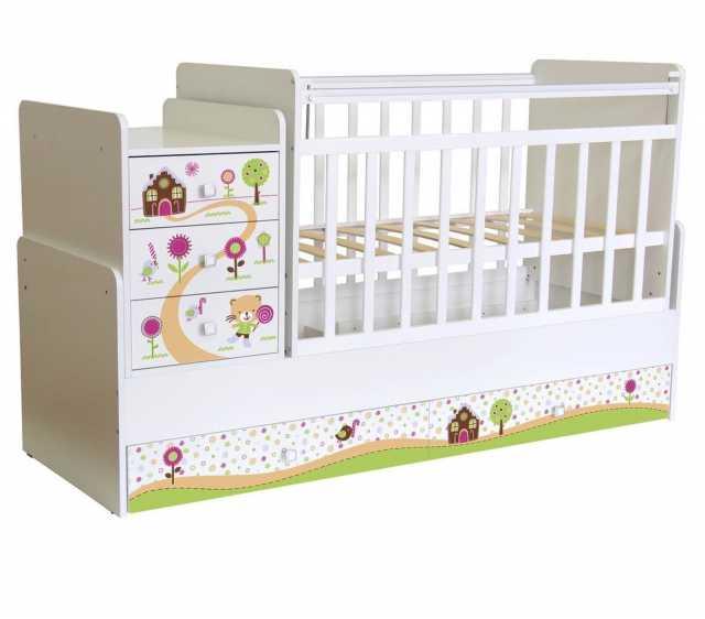Продам: Кроватка детская с маятником
