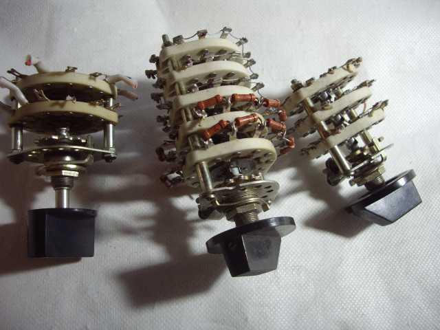 Продам: Переключатели ПГК – переключатели галетн