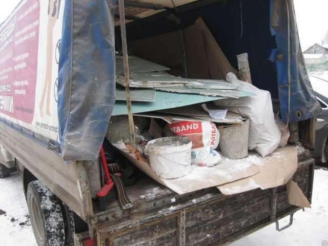 Предложение: Вывоз строительного мусора мебели