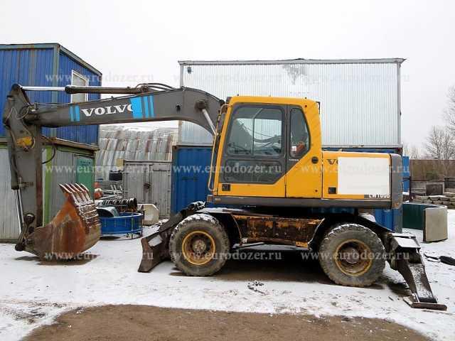 Продам Колесный экскаватор VOLVO EW160, 2006 г