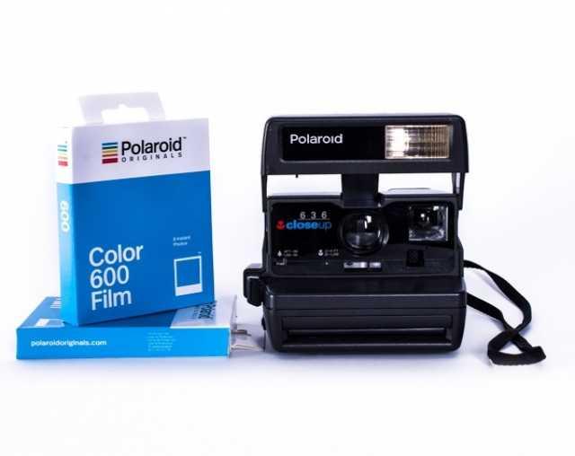 Продам Полароид с кассетой