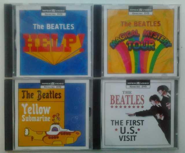 Продам Коллекция «Beatles» на 4-х видеодисках