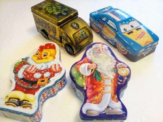 Продам Коробочки-игрушки от сладких подарков