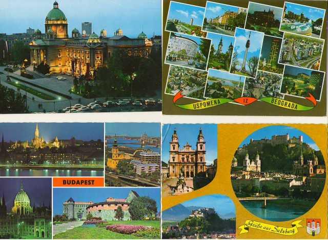 Продам: Открытки иностранные 70-х годов хх