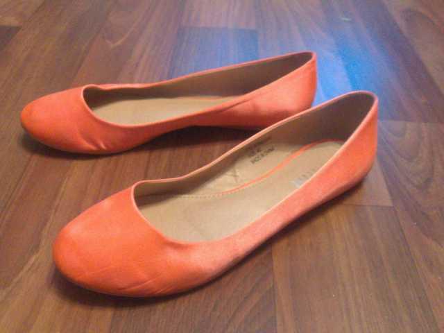 Продам Оранжевые балетки