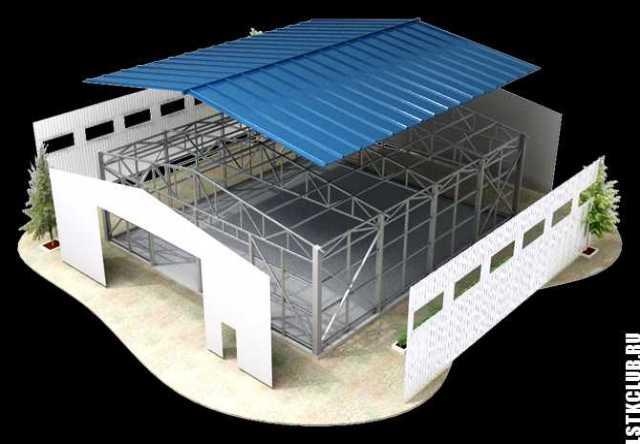 Вакансия: Строительство зданий из металлоконструкц