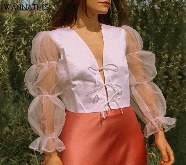 Продам Блуза с пышными рукавами