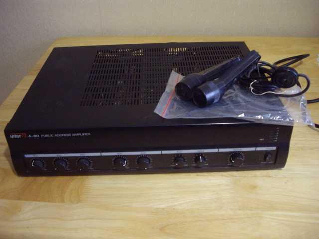 Продам: Трансляционный усилитель INTER-M A-60 RM