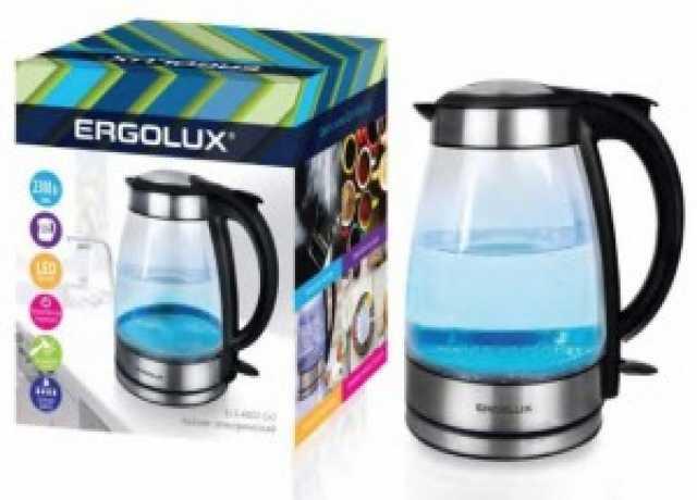 Продам: Чайник электрический ergolux 1. 7л