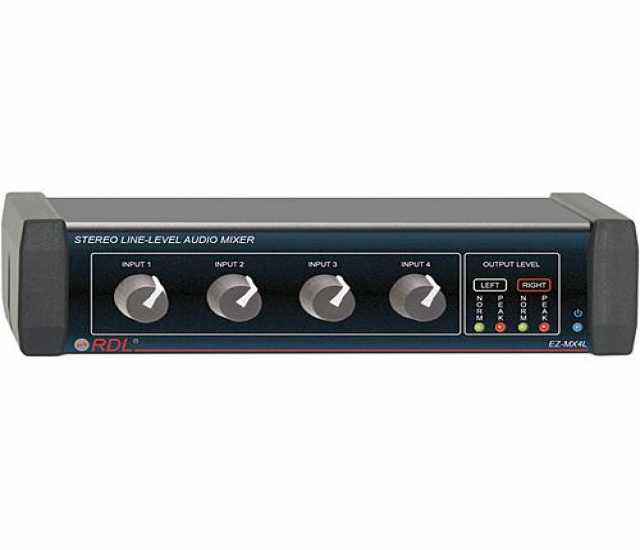 Продам RDL EZ-MX4L Stereo 4-Channel, Line-Level
