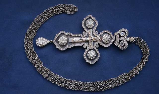 Продам: Старинный архиерейский крест. Конец XIXв