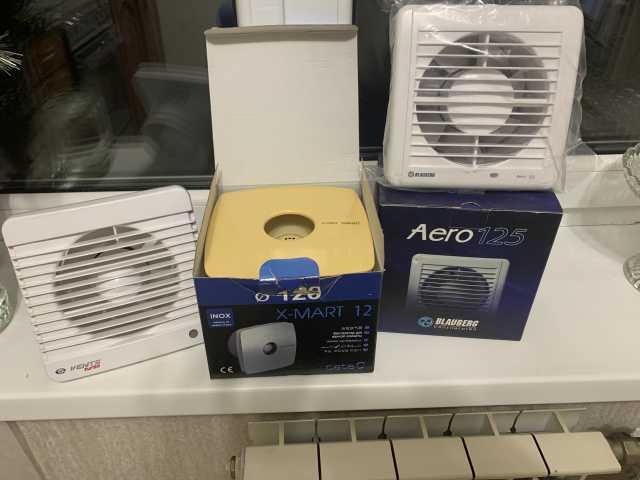 Продам Вытяжные вентиляторы 4 шт
