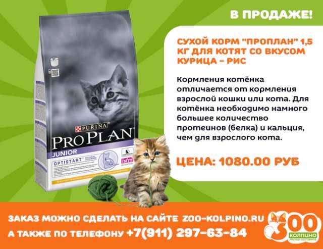 """Продам: Сухой корм для котят """"Пурина ПроПлан"""""""