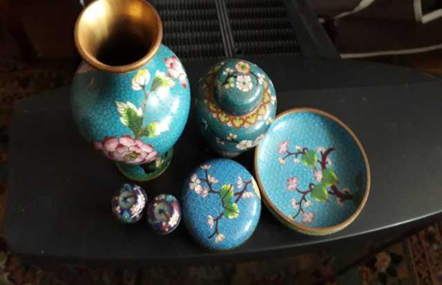 Продам: вазочки метал