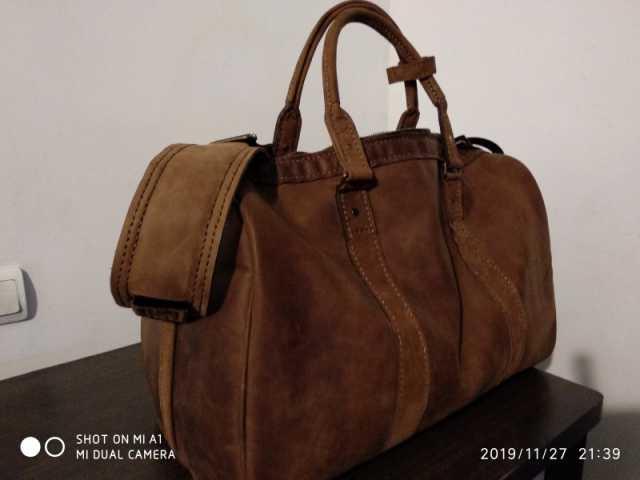 Продам: Кожаная Дорожная сумка