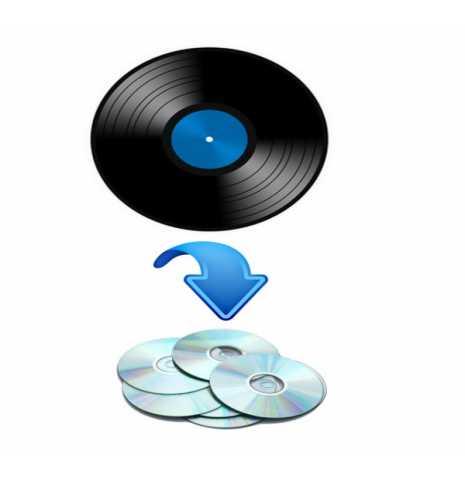 Предложение: Оцифровка виниловых пластинок