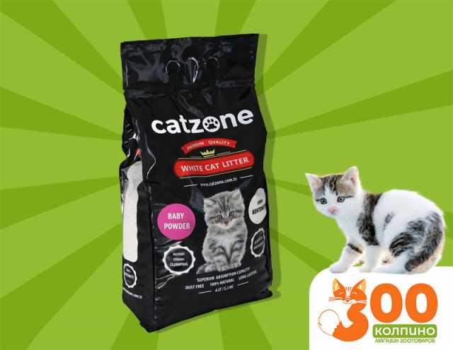 """Продам: Наполнитель для кошек """"Catzone"""" 5,2 кг"""