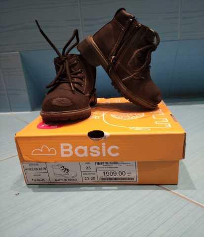 Продам: Ботинки осень-весна BabyGo чёрные 23р