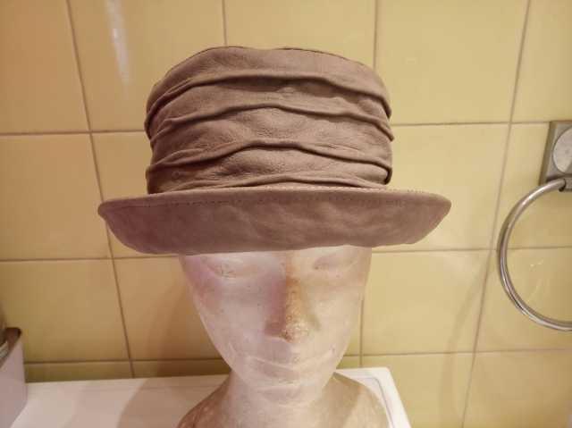 Продам Шляпа кожа натуральная