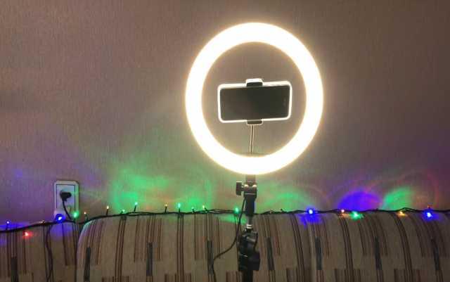 Продам: Лампа кольцевая в Магнитогорске