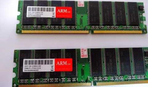 Продам: Оперативная память DDR dimm 2X1Gb