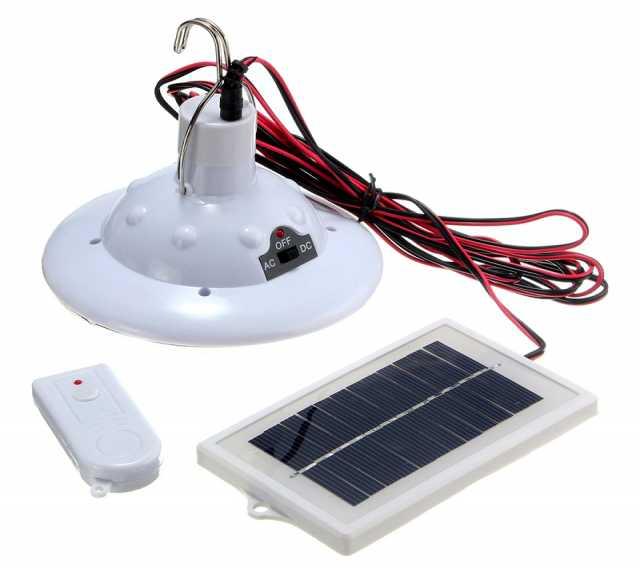Продам светильник с аккумулятором (солнечный)