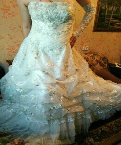 Продам Свадебное платье с аксессуарами